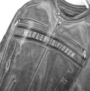Harley Davidson Passing Link Triple Vent Jacket